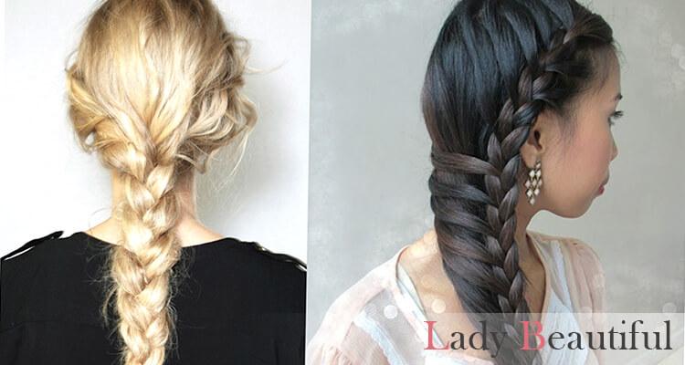 эффектные прически на длинные волосы