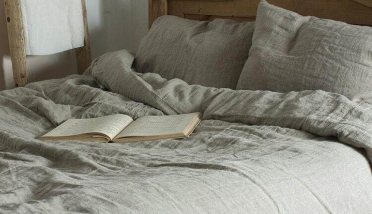 льненое постельное белье